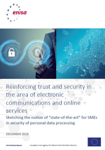 Reinforcing trust and security in the area of electronic communications and online services