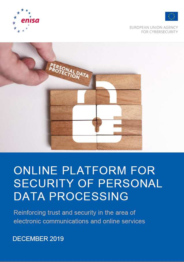 ENISA Report - Online Platform for Security of Personal Data Processing