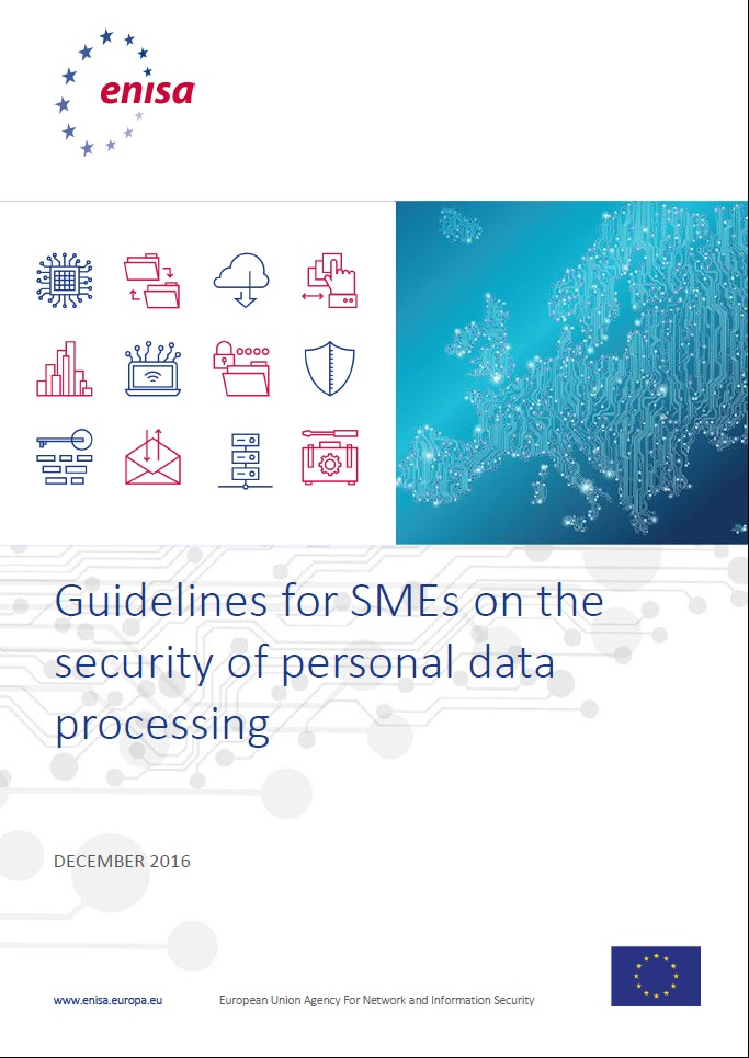 Guidelines for SMEs on the security of personal data processing