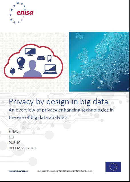 Privacy by design in big data